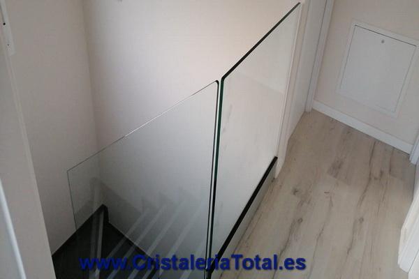 barandilla cristal escalera