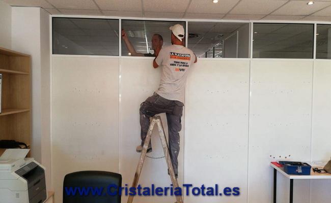 empresa Cristales Divisorios Oficina Puerta Vidrio