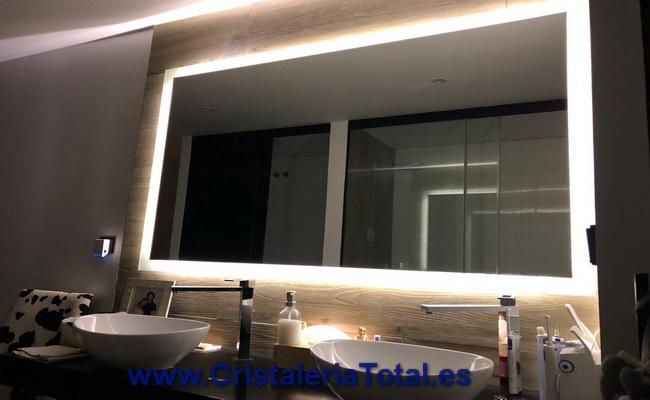 Espejo Baño Con Luz Led a medida