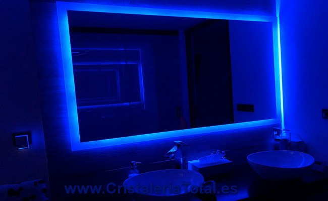 espejos de baño con luces led