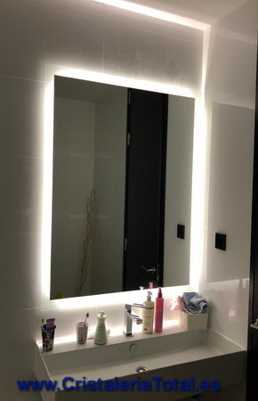 espejos de baño iluminacion led