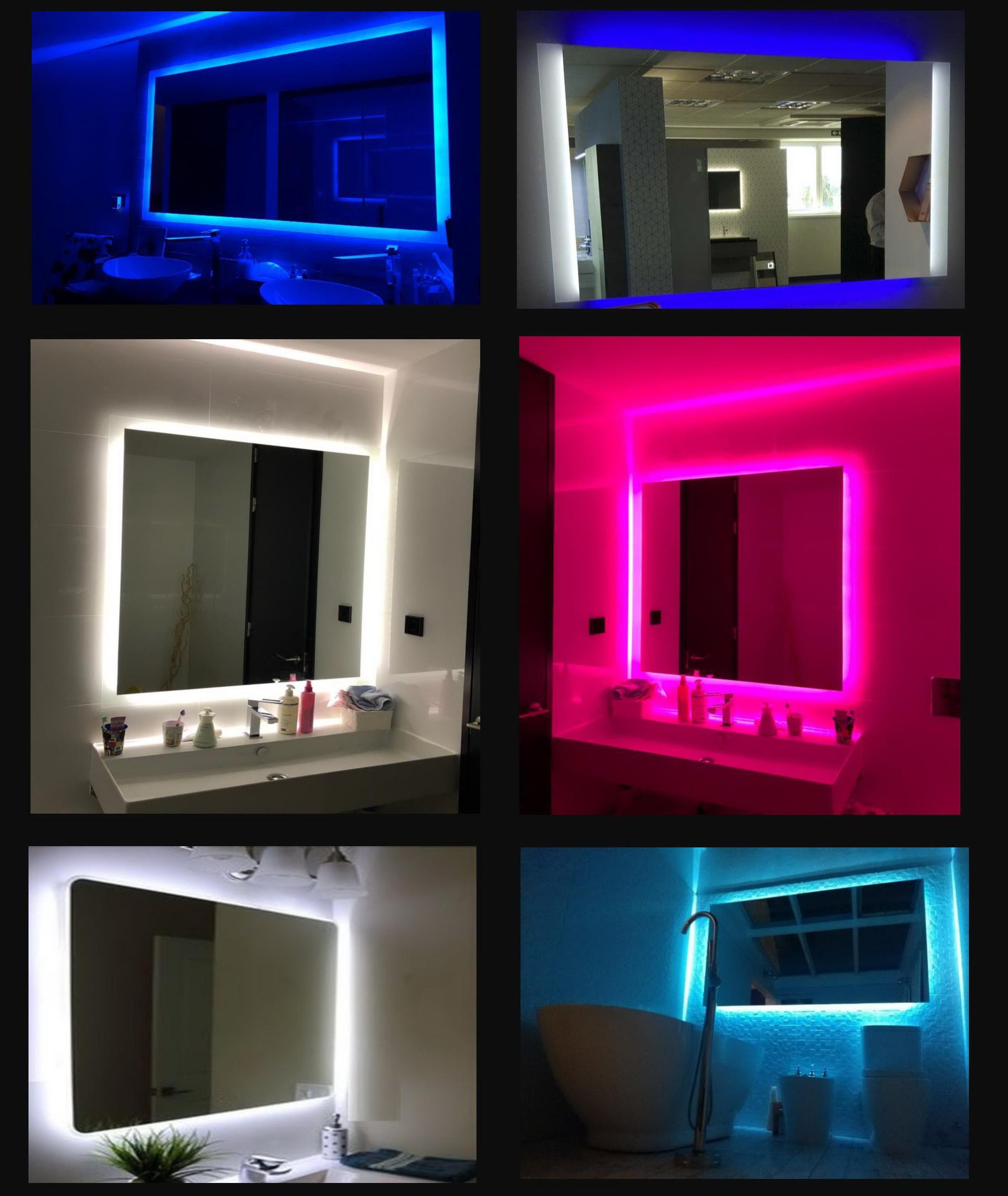 Espejos de Baño Led a Medida al Mejor Precio Madrid