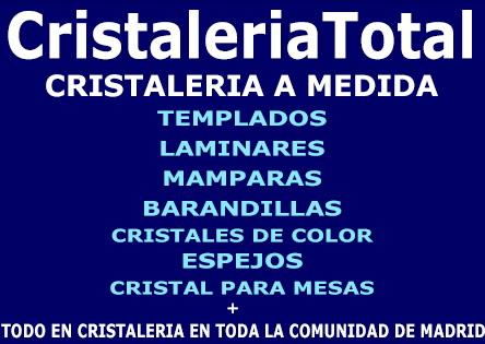 precio cristaleria precios cristales vidrio Madrid